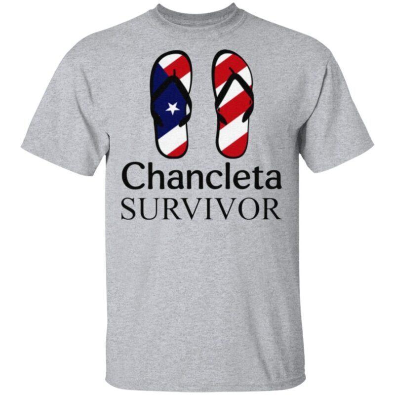 Flip Flop American Chancleta Survivor TShirt