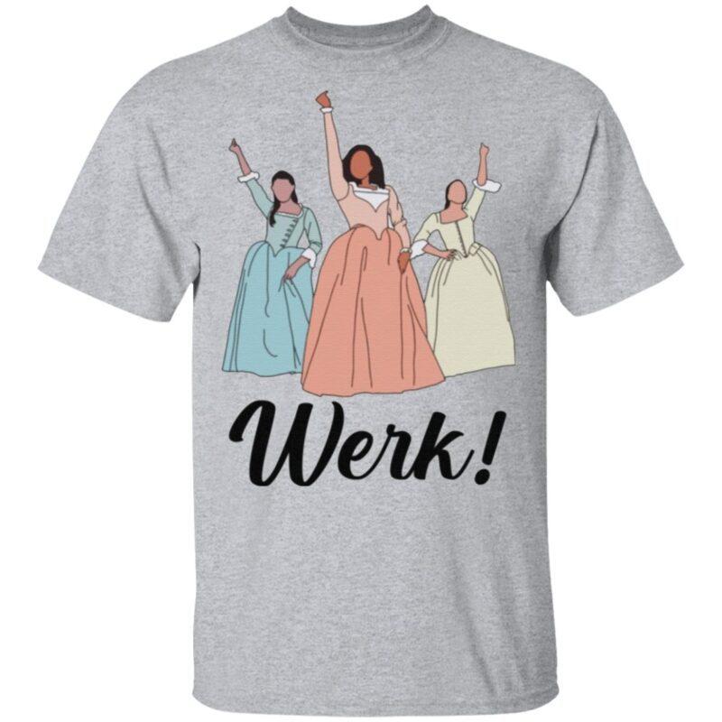 The Schuyler Sisters Werk Include Women In The Sequel T-shirt