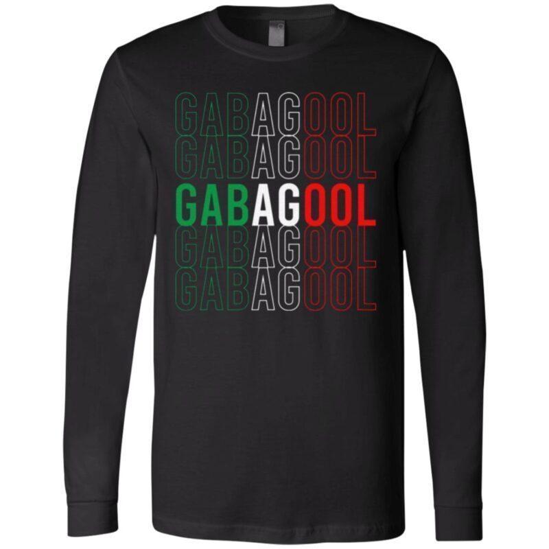 Gabagool Italian Flag T-Shirt