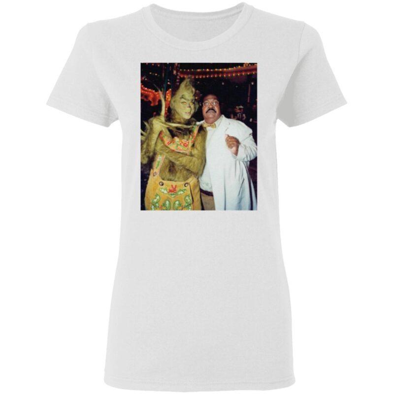 Jim Carrey And Eddie Murphy Grinch T Shirt
