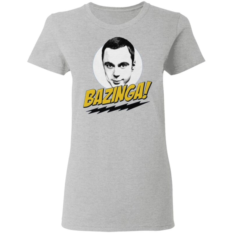 Sheldon Cooper Bazinga T Shirt
