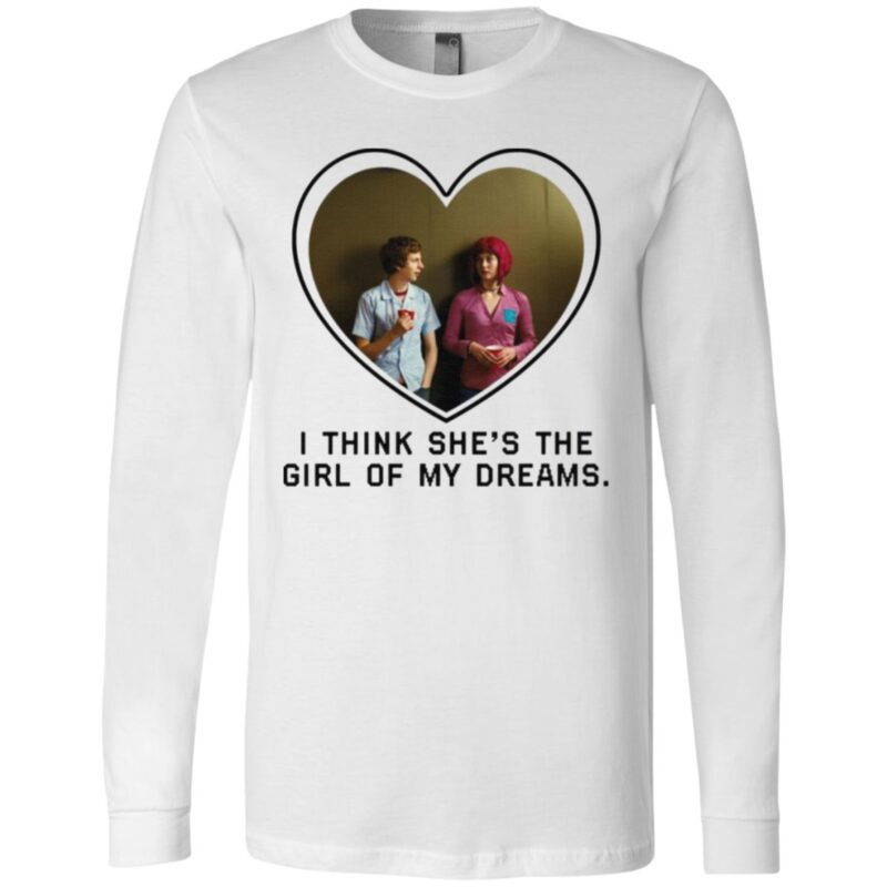 Michael Cera And Mary Elizabeth I Think She's The Girl Of My Dreams T Shirt