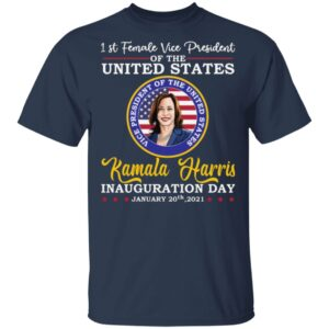 1st Female Vice President Of The US Kamala Harris T-Shirt