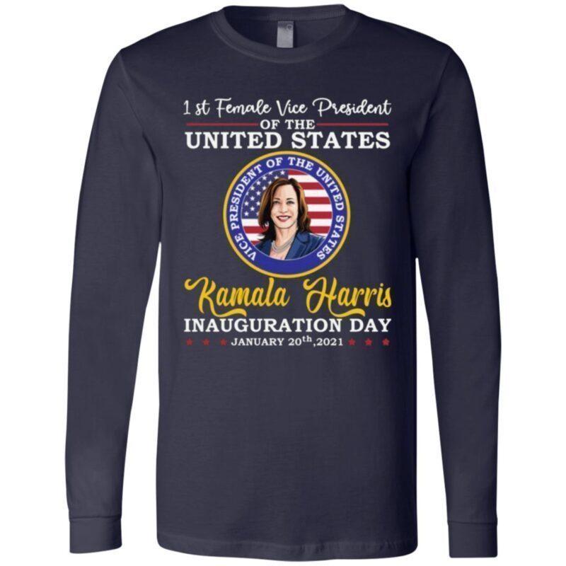 1st Female Vice President Of The US Kamala Harris T-Shirt