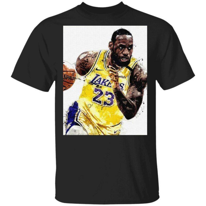Lebron James 23 Los Angeles Laker T Shirt