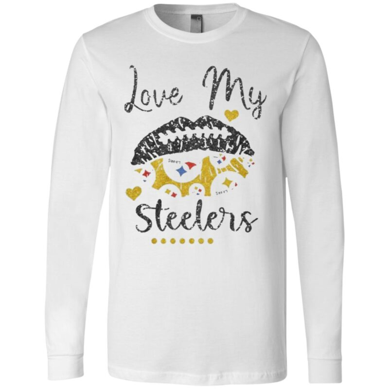 Love My Pittsburgh Steelers t shirt