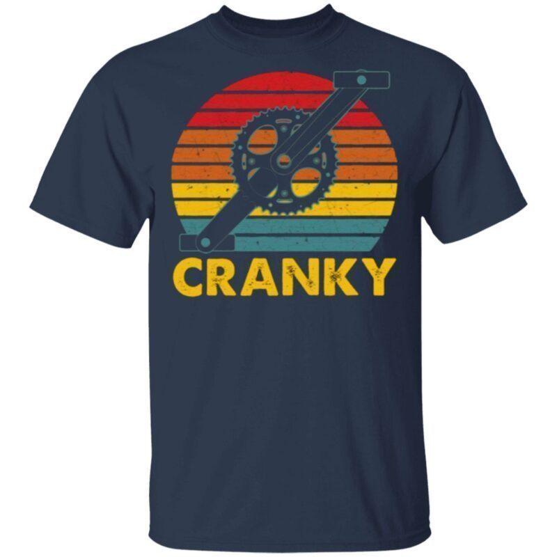 Retro Bicycle Crank T Shirt