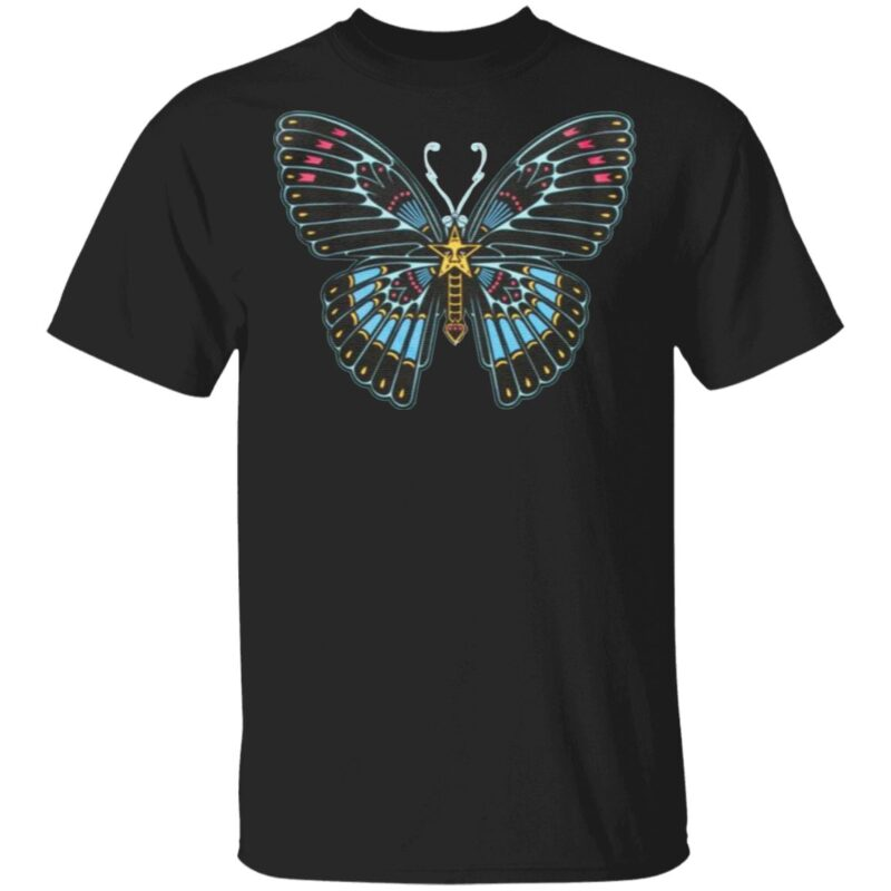 Obey Butterfly Away t shirt