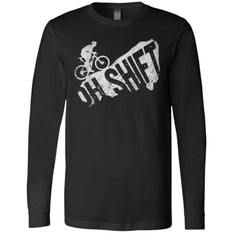 Oh Shift Mountain Biking Bicycle Tee Shirt