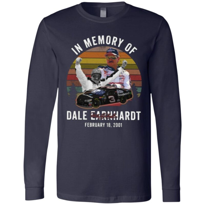 In Memory Of Dale Earnhardt Vintage T Shirt