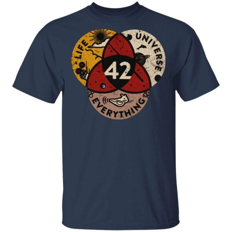 Everything Life Universe 42 T Shirt