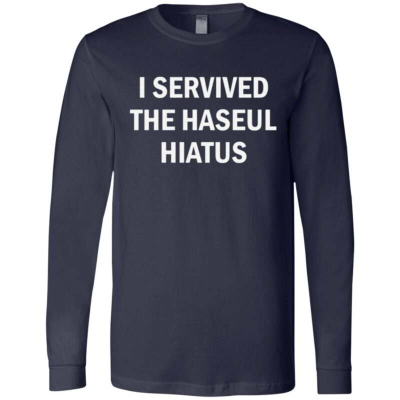i servived the haseul hiatus t shirt