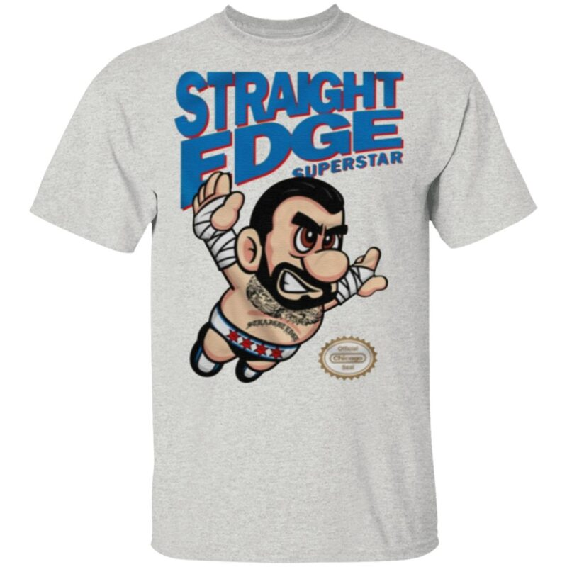 Straight Edge Superstar TShirt