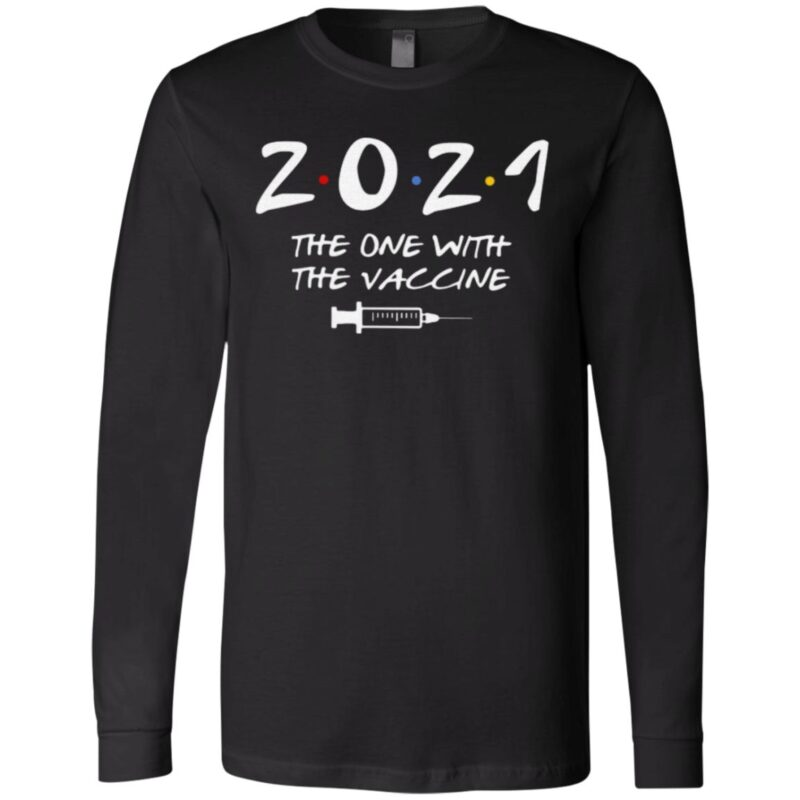 2021 The One With The Vaccine Friends T Shirt