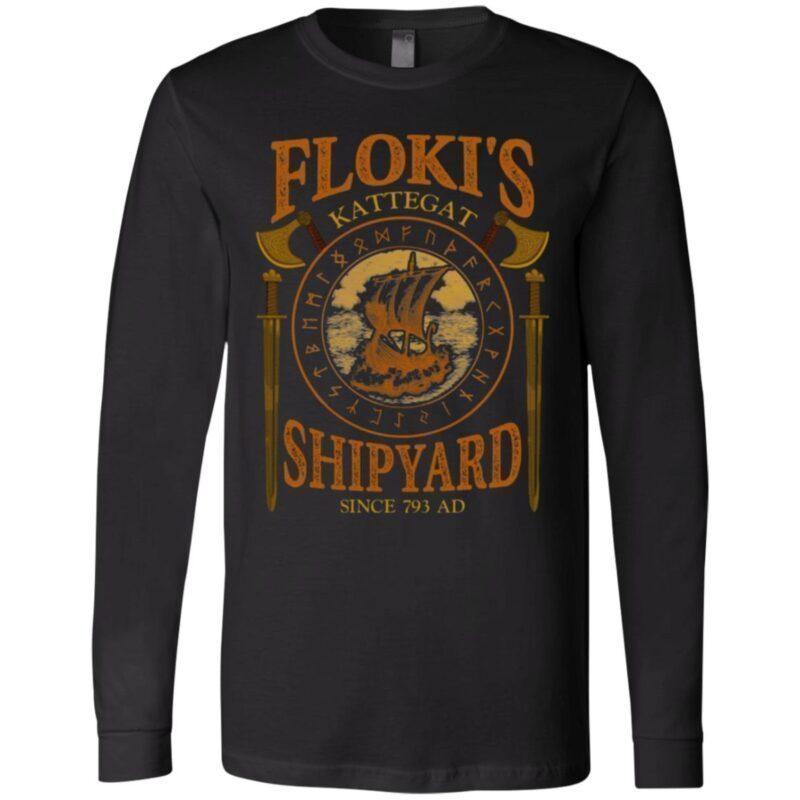 Floki's Shipyard Since 793 AD Kattegat T-Shirt