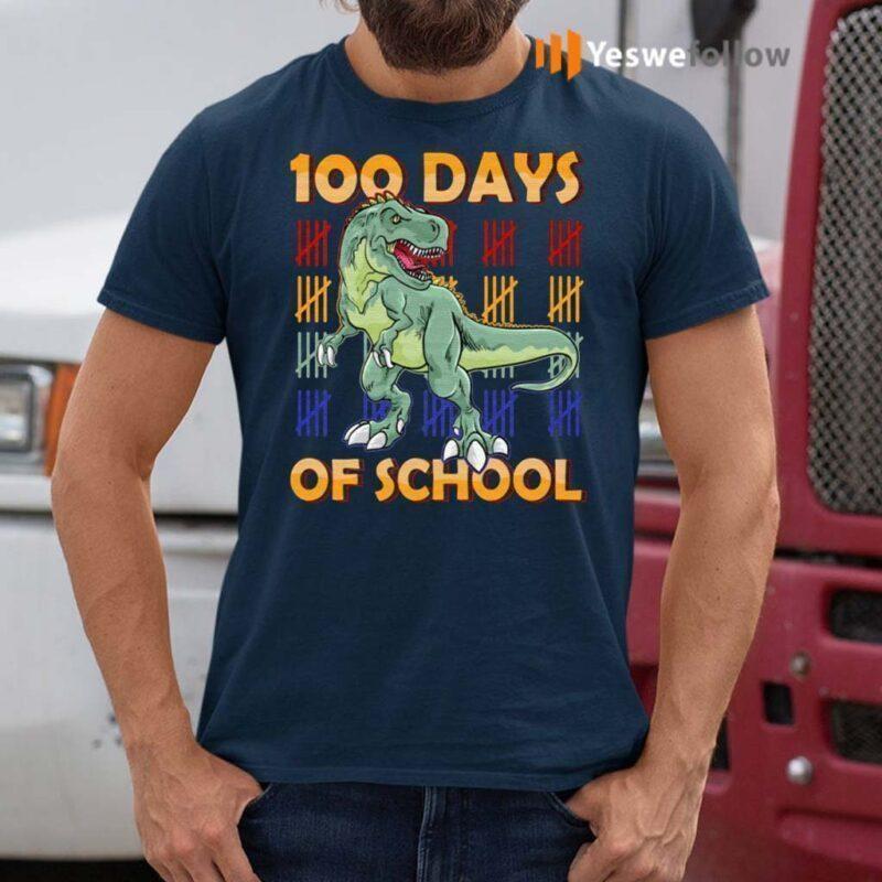 100-Days-Of-School-Dinasour-Shirt
