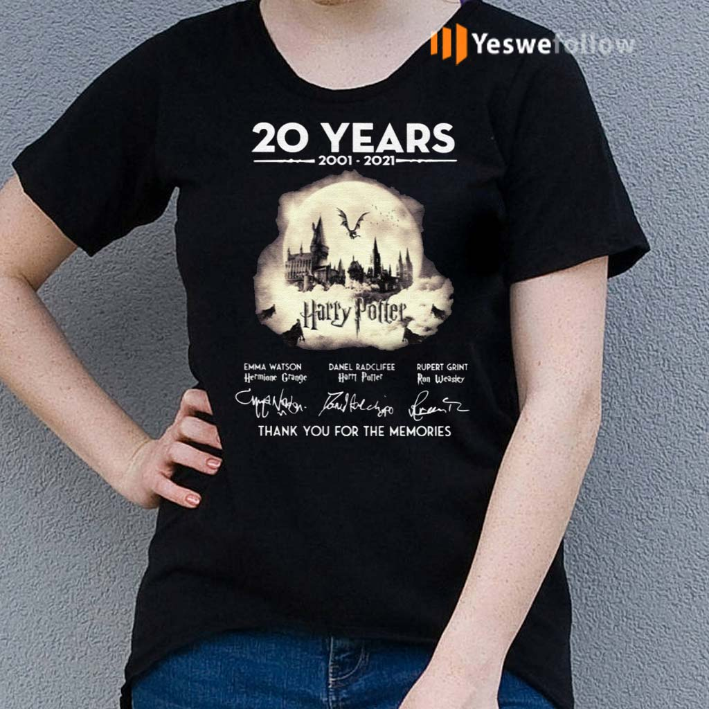 20-Years-Of-Harry-Potter-Thank-You-For-The-Memories-Shirt