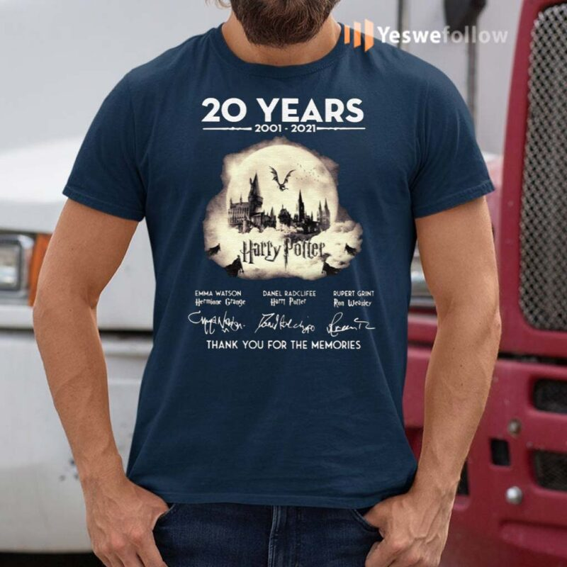20-Years-Of-Harry-Potter-Thank-You-For-The-Memories-Shirts