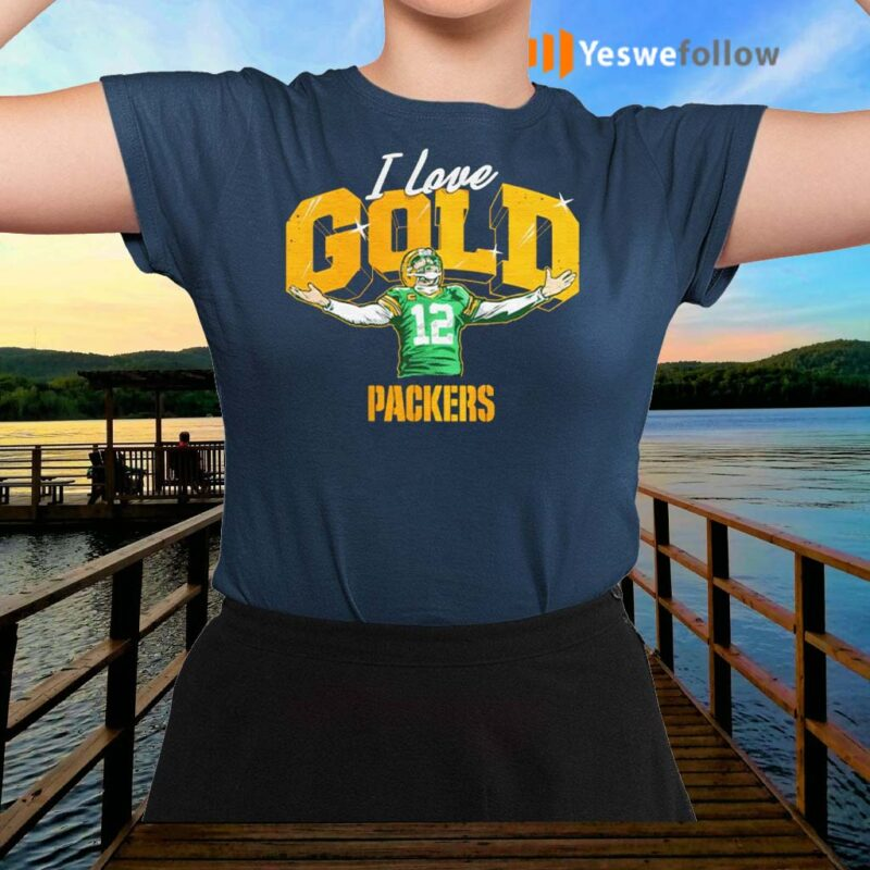 Aaron-Charles-Rodgers-I-love-gold-Green-Bay-Packers-tshirt