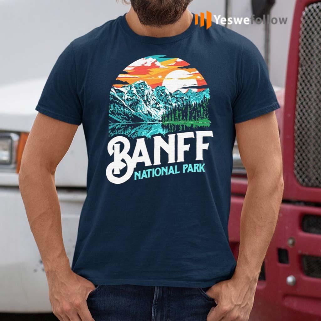 Banff-National-Park-Lake-Louise-Canada-T-Shirt