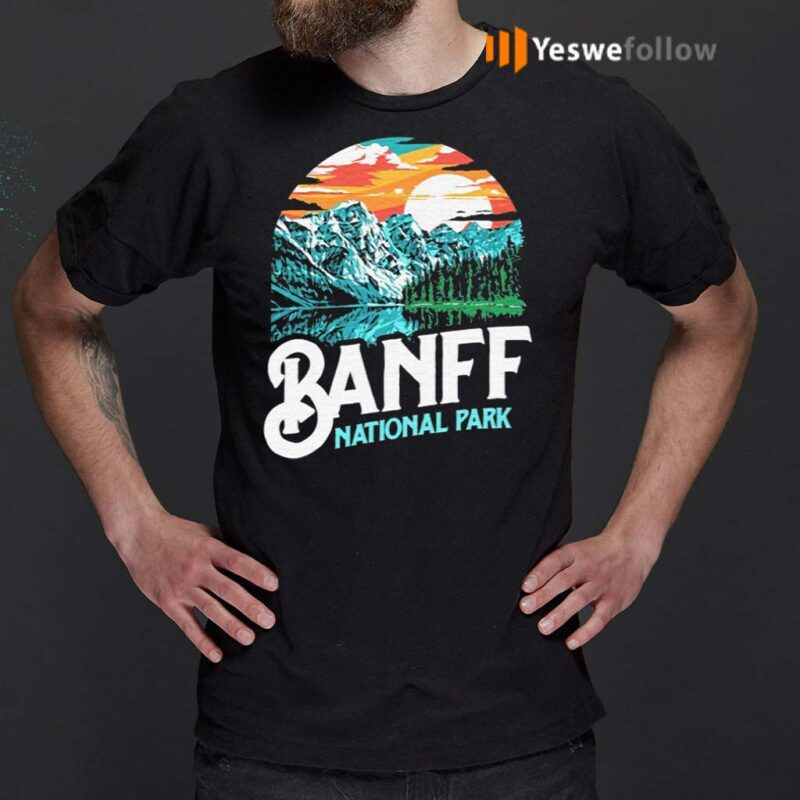 Banff-National-Park-Lake-Louise-Canada-T-Shirts
