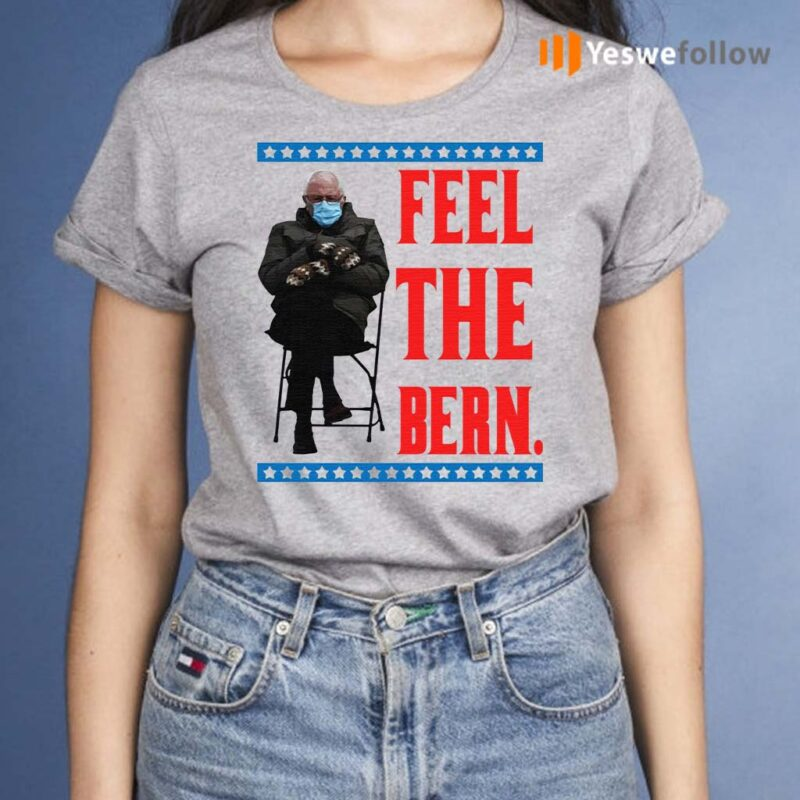 Bernie-Sanders-Meme-Feel-the-Bern-Shirt