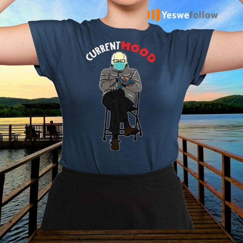 Bernie-Sanders-in-Mittens-My-Current-Mood-T-Shirts