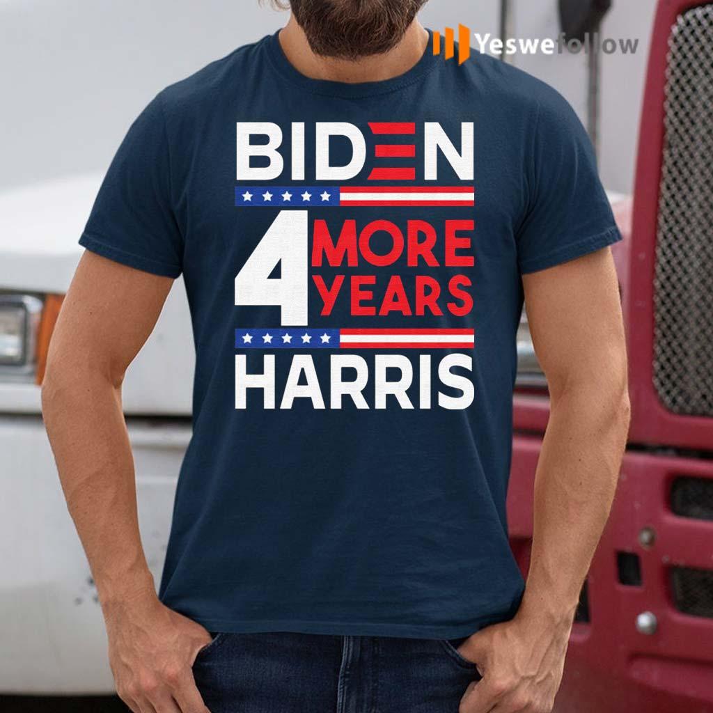 Biden-Harris-2021-4-More-Years-–-46th-President-Female-Vice-President-Shirt