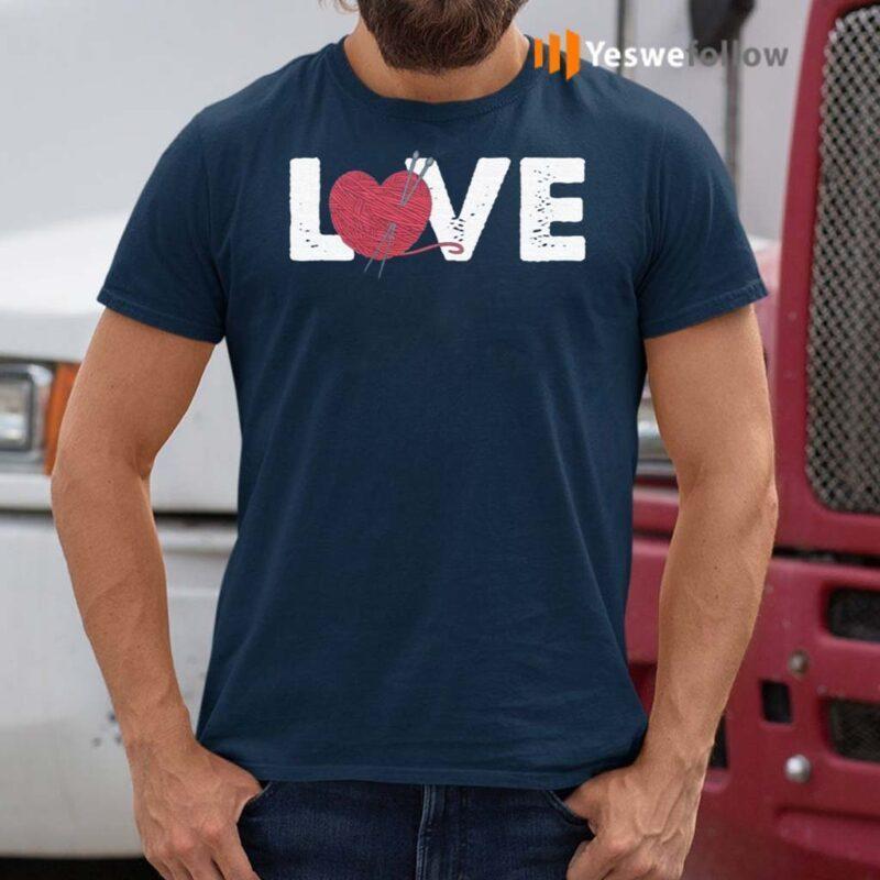 Crochet-Love-T-shirt