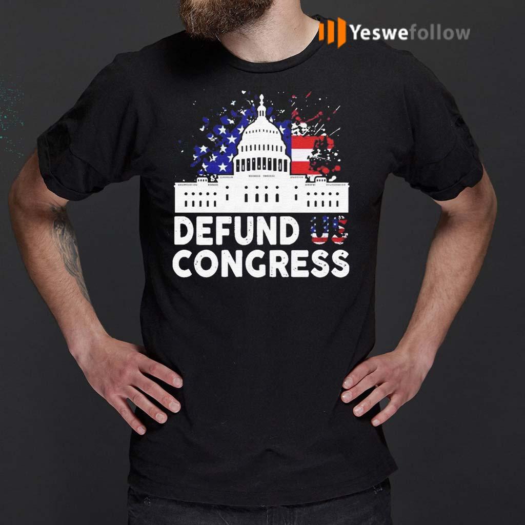 Defund-Congress-American-Flag-Shirt