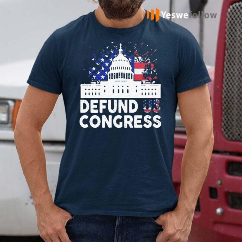 Defund-Congress-American-Flag-Shirts