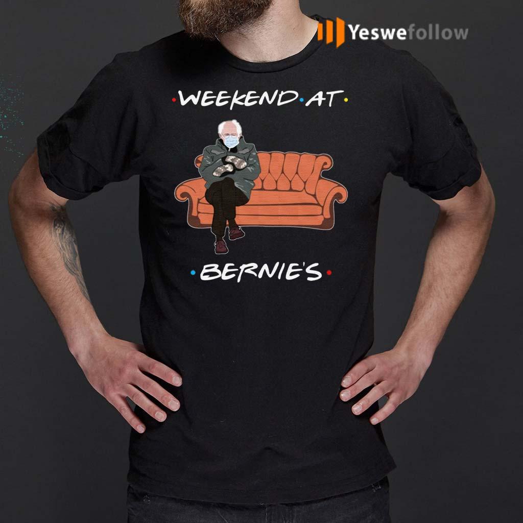 Friends-Weekend-At-Bernies-Sanders-T-Shirt