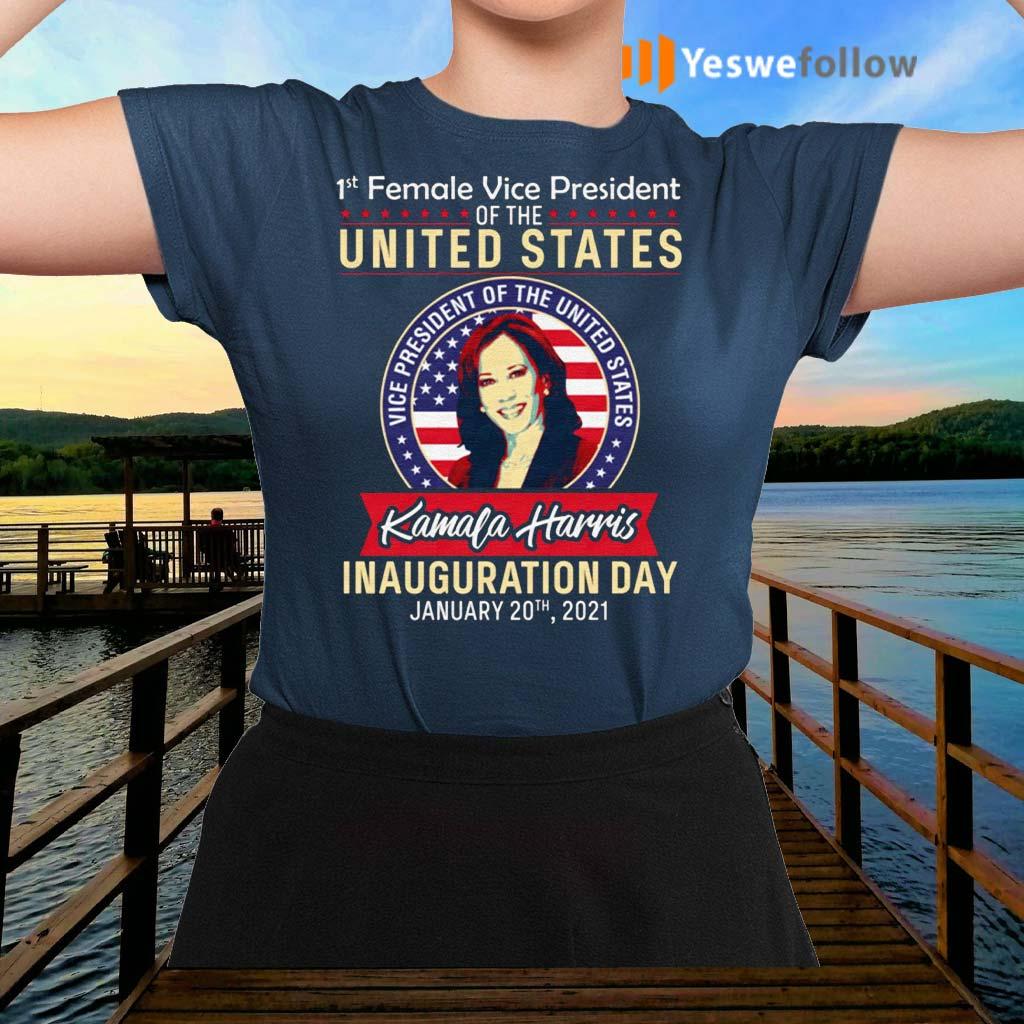 Kamala-Harris-1st-Female-Vice-President-Shirt