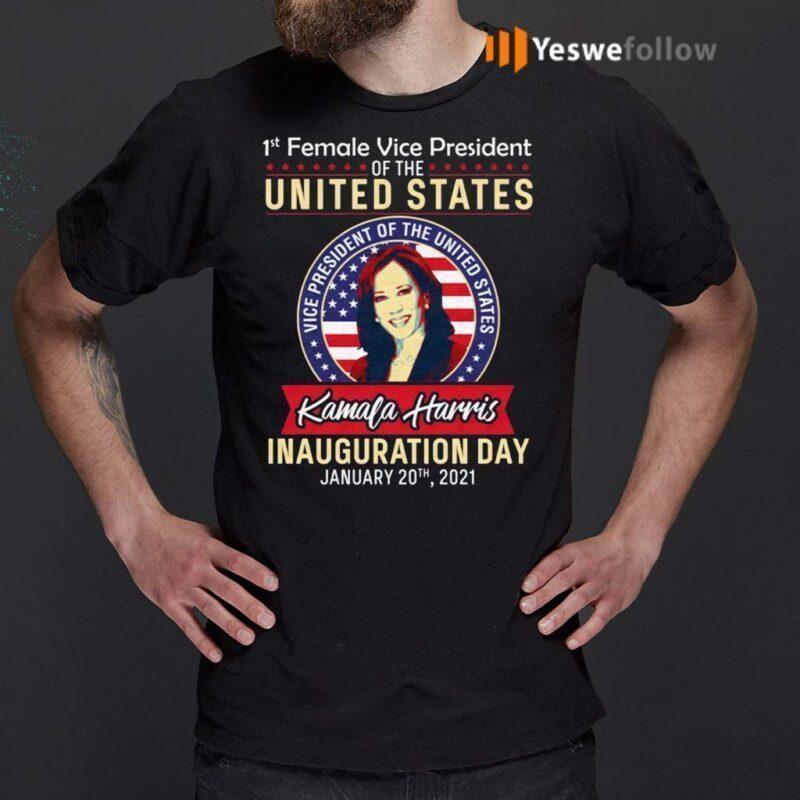 Kamala-Harris-1st-Female-Vice-President-Shirts