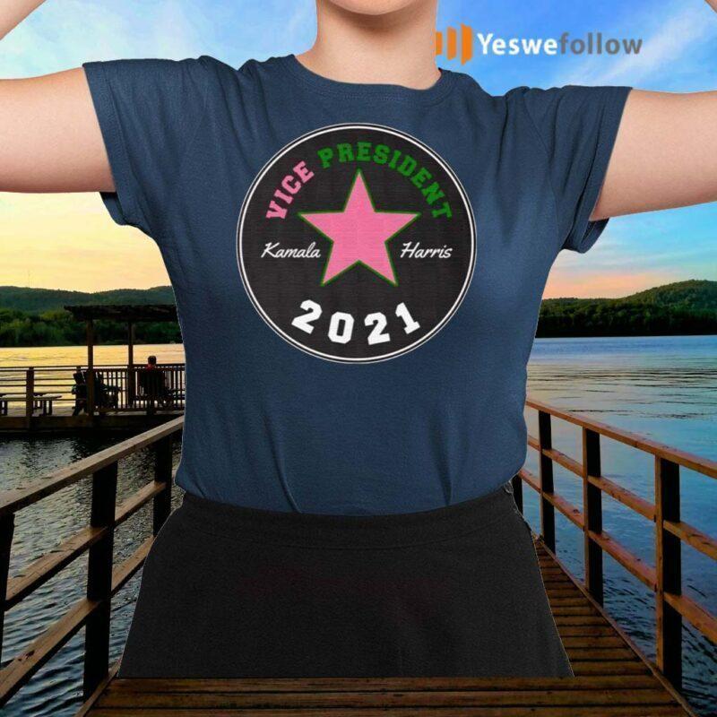 Kamala-Harris-Chuck-And-Pearls-Mr-Vice-President-2021-T-shirts