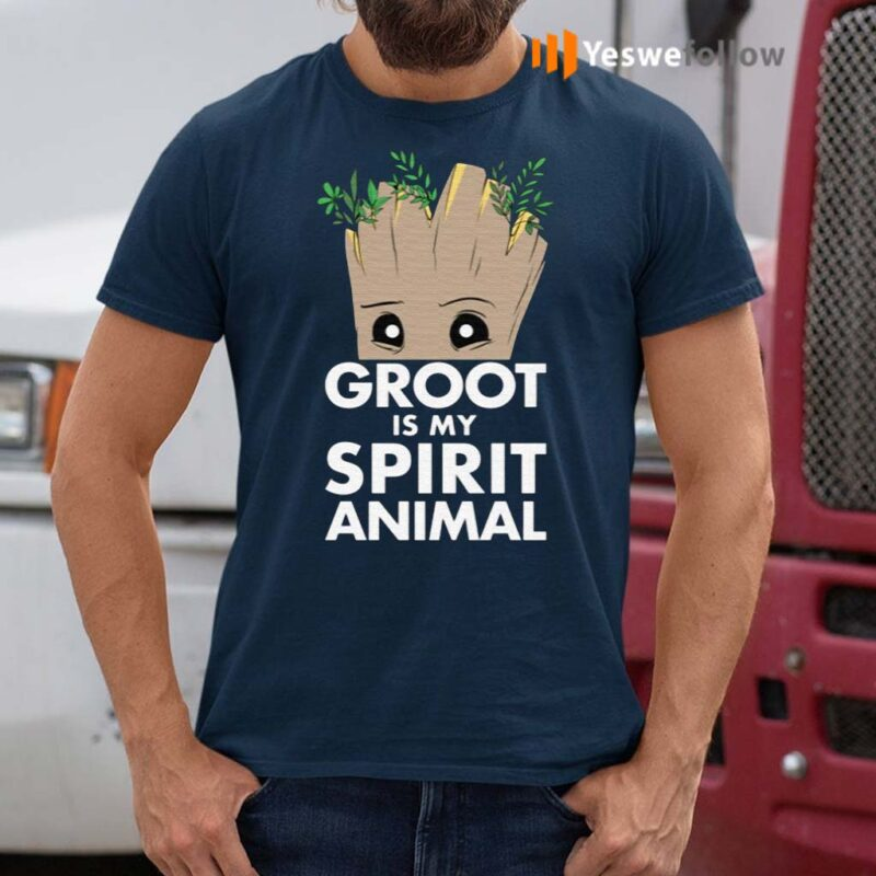 Marvel-Guardians-Of-The-Galaxy-Groot-Is-My-Spirit-Animal-Shirt