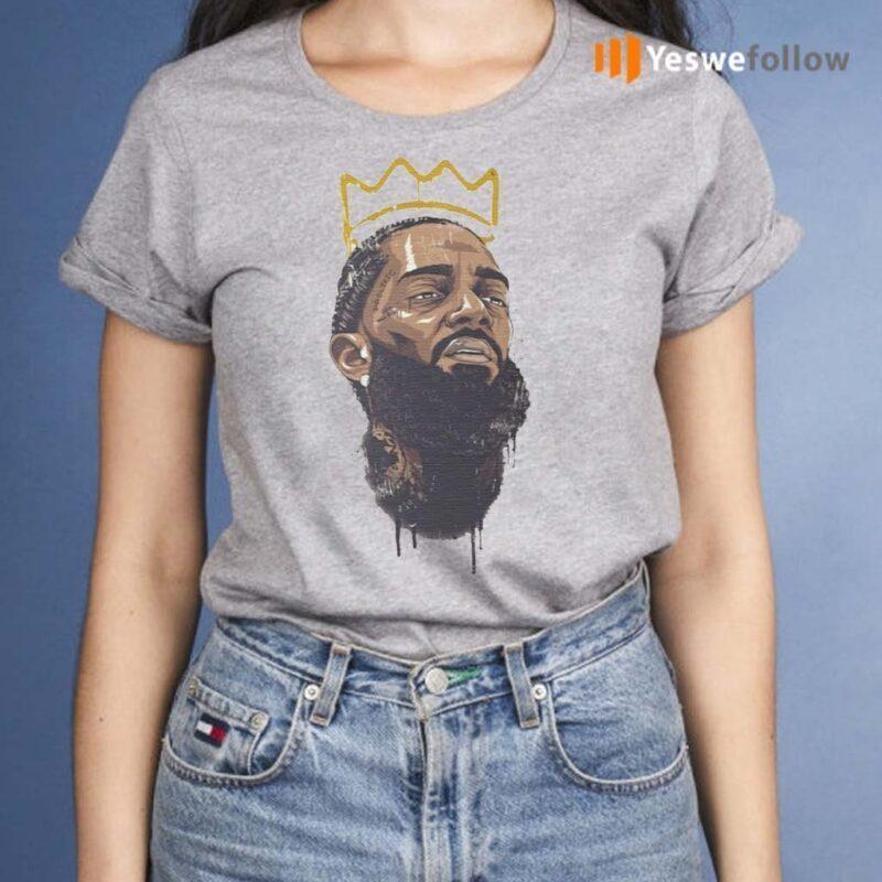 Nipsey-Hussle-Rapper-legend-king-T-Shirt