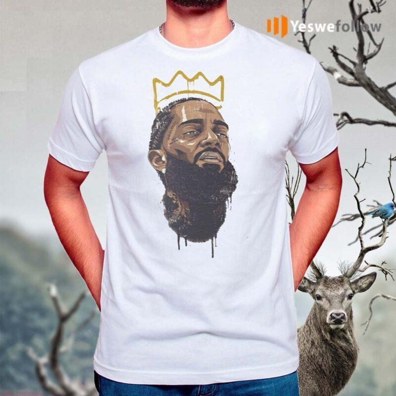 Nipsey-Hussle-Rapper-legend-king-T-Shirts