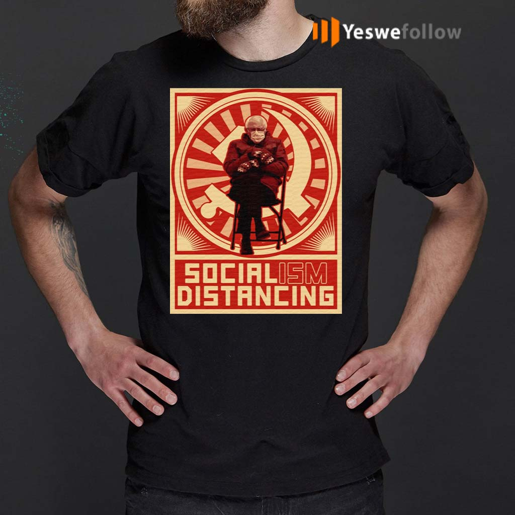 No-Socialism-Bernie-Sit-Meme-Fuck-Around-and-Find-out-T-Shirt