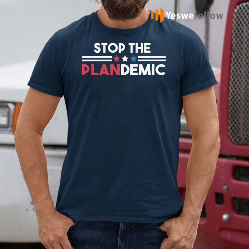Stop-The-Plandemic-T-Shirts