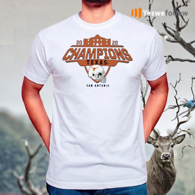 Texas-Longhorns-2020-Alamo-Bowl-Champions-Shirts