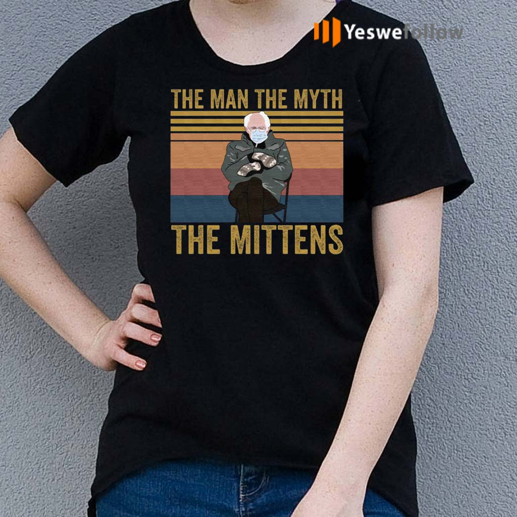 The-Man-the-Myth-the-Mittens-T-Shirt