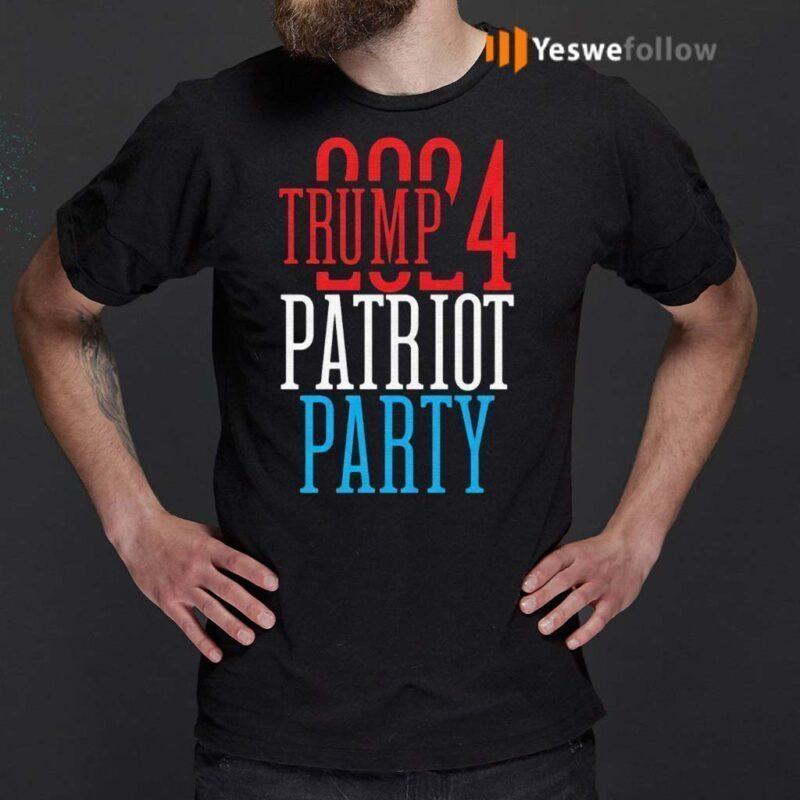 Trump-2024-Patriot-Party-T-Shirt