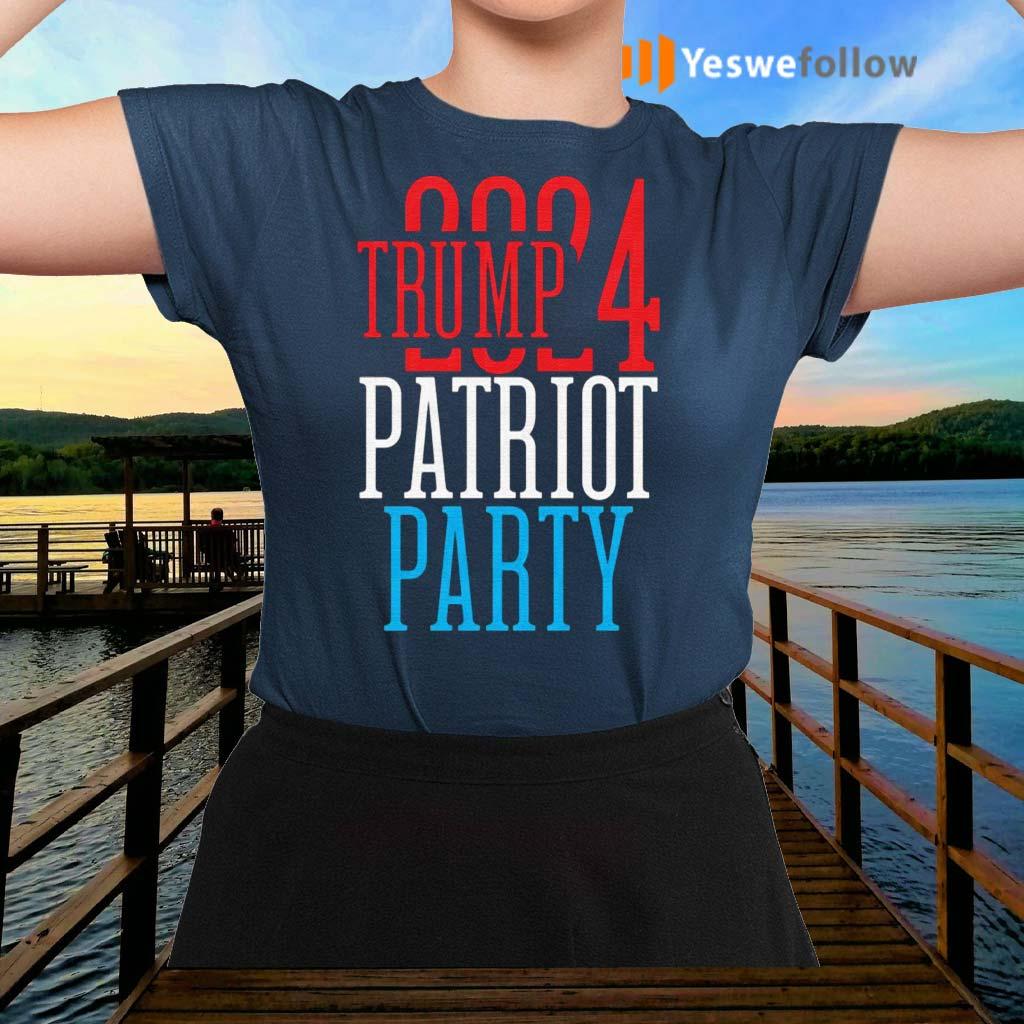 Trump-2024-Patriot-Party-T-Shirts