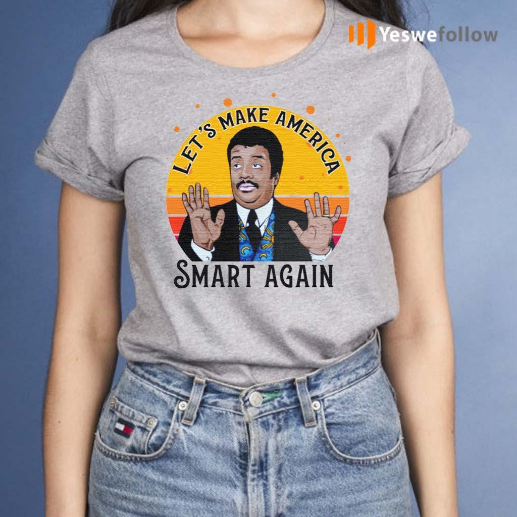 Tyson-Let's-Make-America-Smart-Again-Vintage-Shirt
