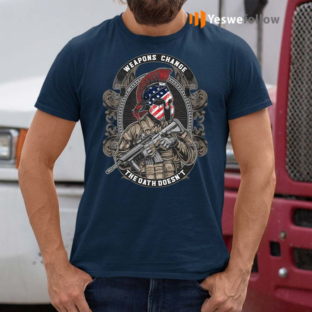 Weapons-chance-the-oath-doesn't-shirts