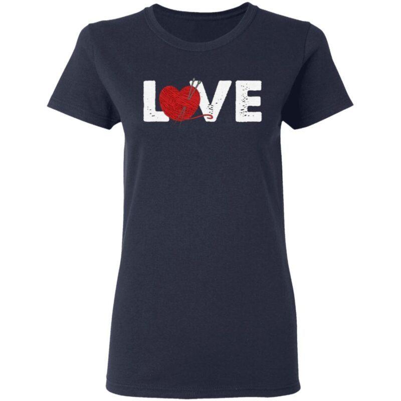 Crochet Love T-shirt