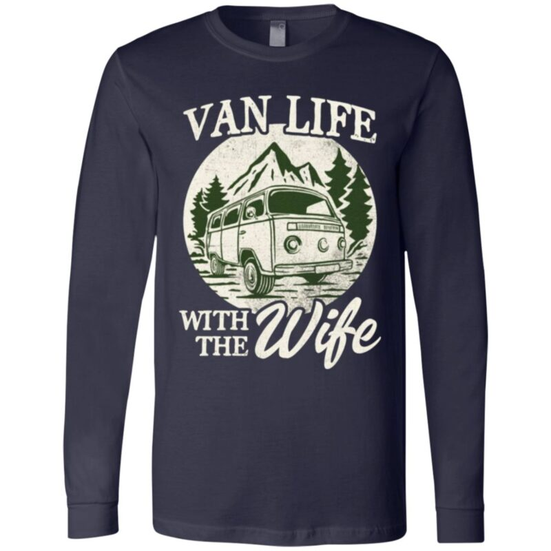 Van Life With The Wife T-shirt