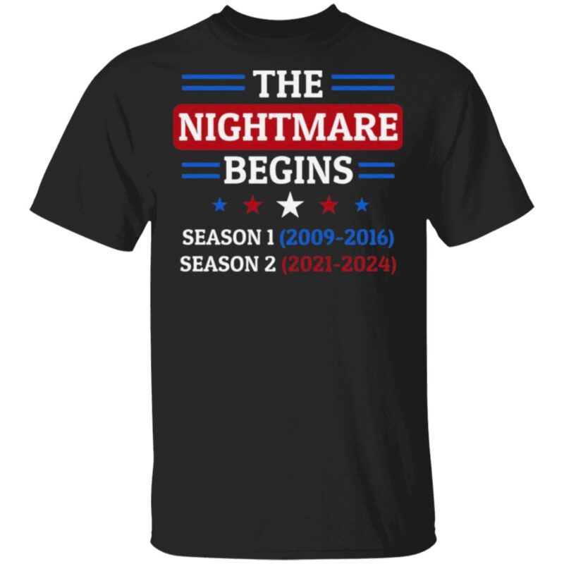 The Nightmare Begins January 20th 2021 T-Shirt