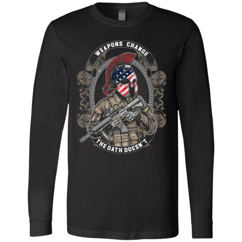 Weapons chance the oath doesn't t shirt